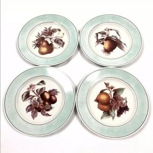 Ralph Lauren home set of 4 blossom plates